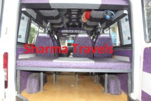 tempo traveller 16 seater leh chandigarh